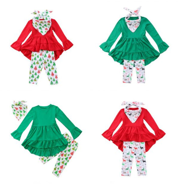 Reindeer Pant Set - In The Limelight
