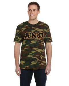 Camouflage Greek Letter Shirt - In The Limelight