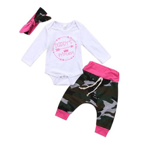 Daddy's Princess Camo Set - In The Limelight