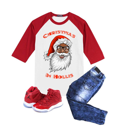 Black Santa Christmas Shirt
