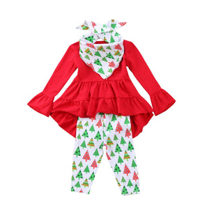 O Christmas Tree Pants Set