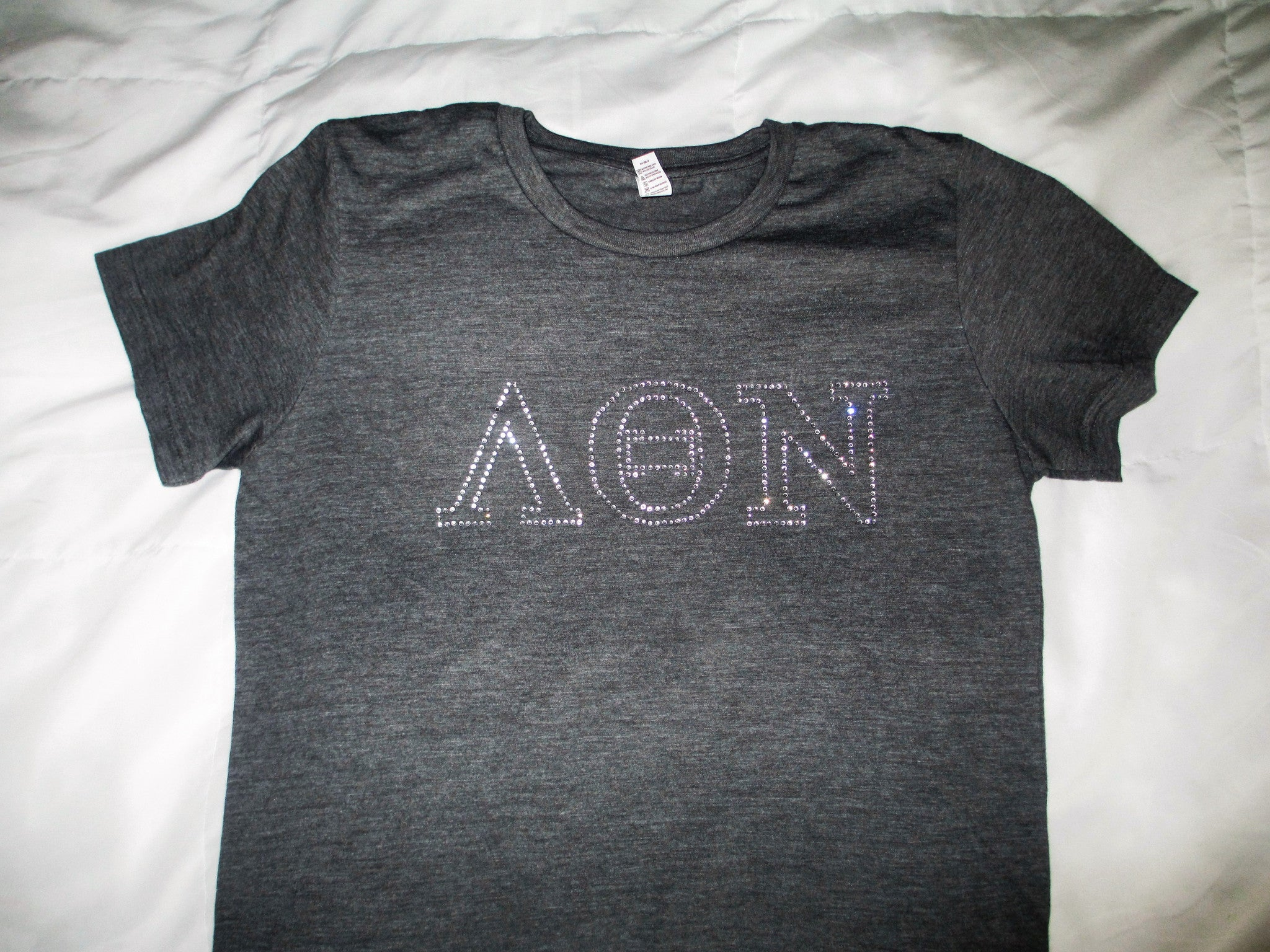 Greek Letter Outline Sorority Shirt - In The Limelight
