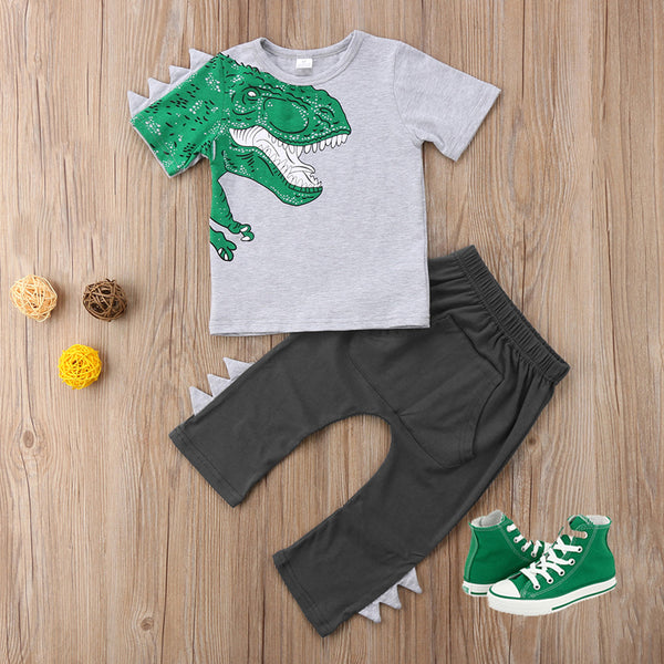 Boys Outfit-ROAR Dinosaur - In The Limelight