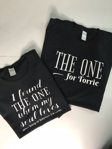 The One Couples Shirts - In The Limelight