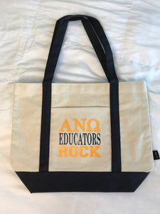 Educators Rock Tote Bag - In The Limelight