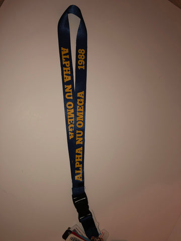 Alpha Nu Omega Lanyard - In The Limelight
