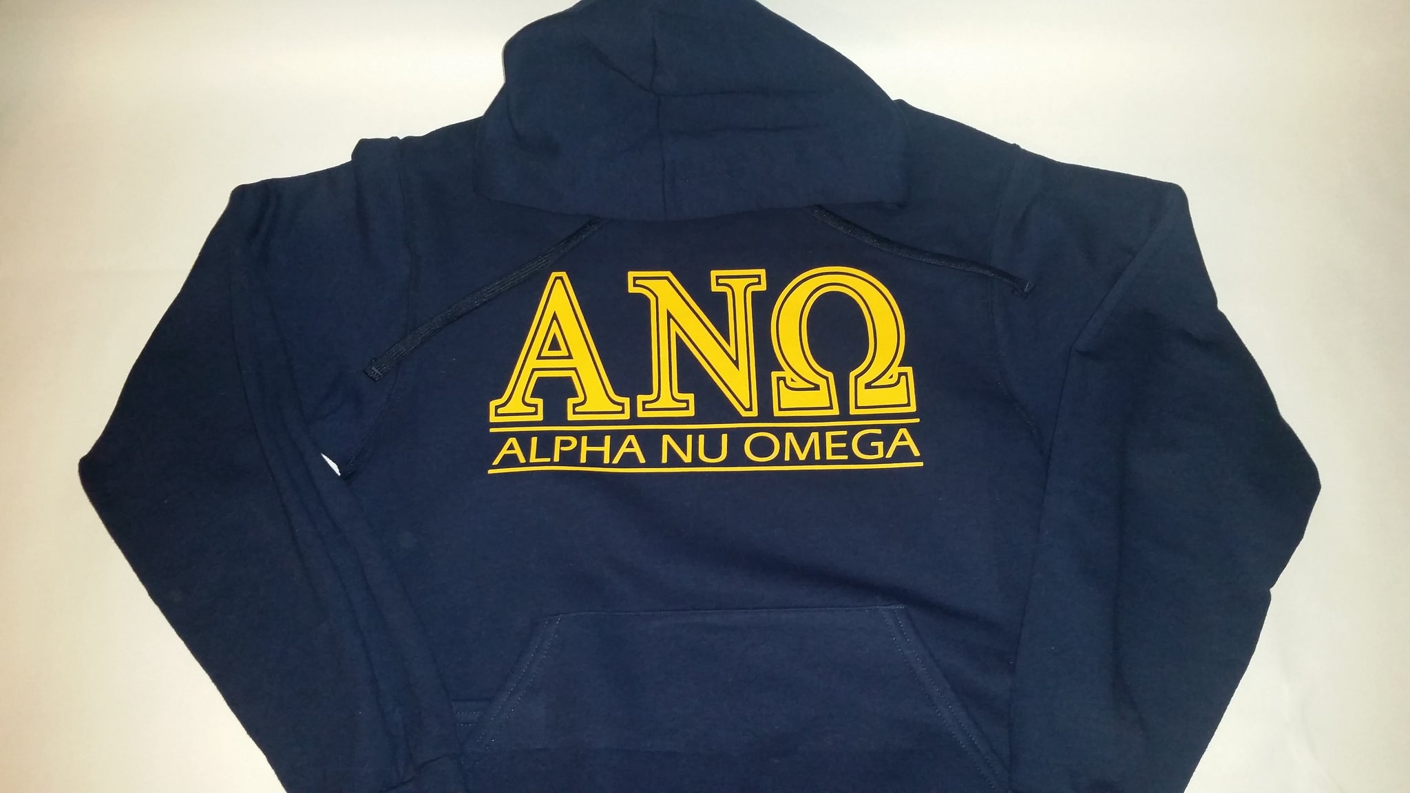 Alpha Nu Omega Hoodie - In The Limelight