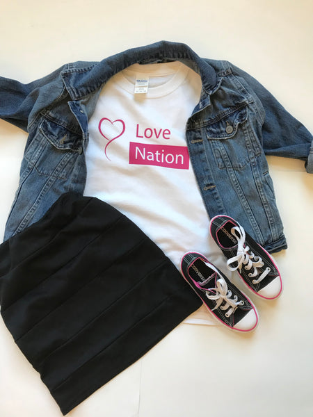 Love Nation Fundraiser Shirt - In The Limelight