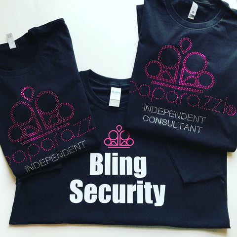 Paparazzi Bling Security Shirt - In The Limelight