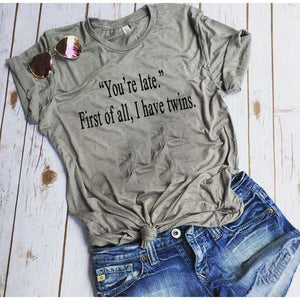 First of All Twin Mom Shirt - In The Limelight