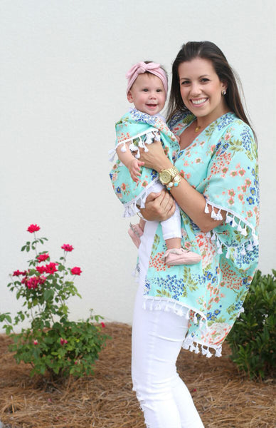 Mommy and Me Floral Kimono - In The Limelight