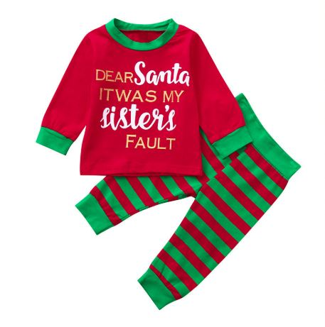 Twin Christmas Pajamas