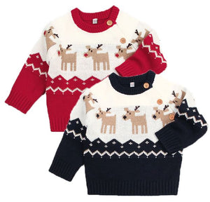 Children's Reindeer Sweater - In The Limelight