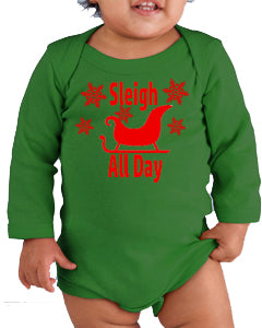 Sleigh All Day Christmas Onesie - In The Limelight