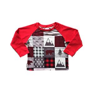Mountain Squares Christmas Shirt - In The Limelight
