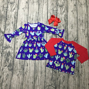 Christmas Cactus Dress - In The Limelight