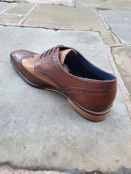 Eamon Brogue Brown/Tan