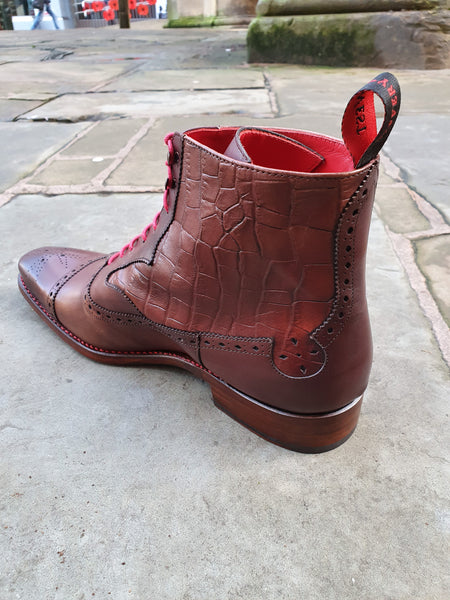 Brummel Boot Hunger Dark Brown
