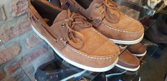 Dockside Portland Suede Brown Cognac