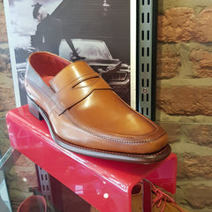 Checked Melly Loafer Caramel