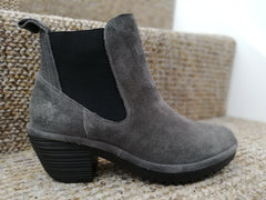 Fly London Wasp Diesel Ankle Boot in oil suede leather.