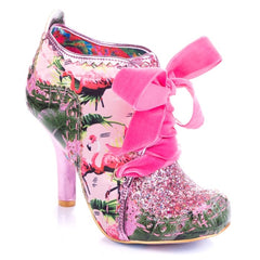 Irregular Choice Abigails third party pink/green
