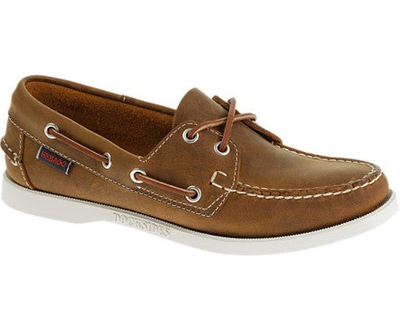Docksides Brown Leather by Sebago