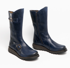 Copy of Fly London Mes Rug Blue Boot