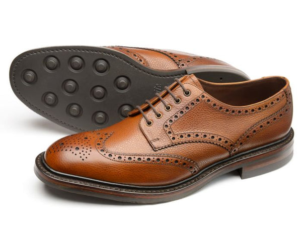 Badminton Mahogany Brogue