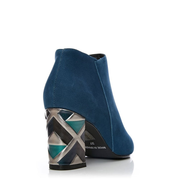 Moda In Pelle Kisha Teal Ankle boot