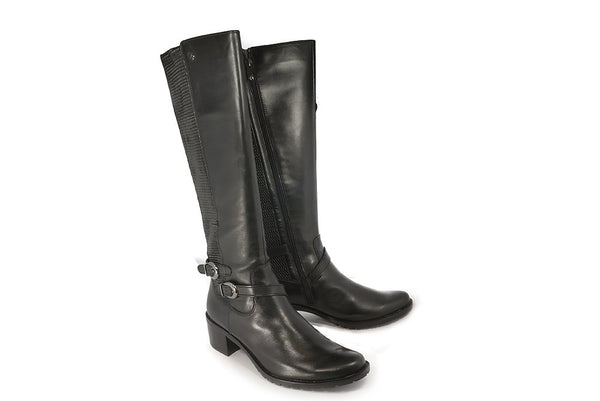Caprice Black Nappa Boot