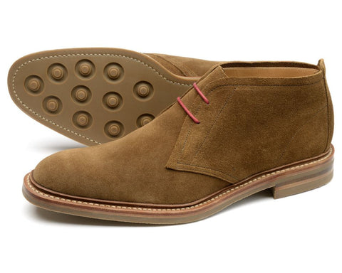 Sandown Brown Suede
