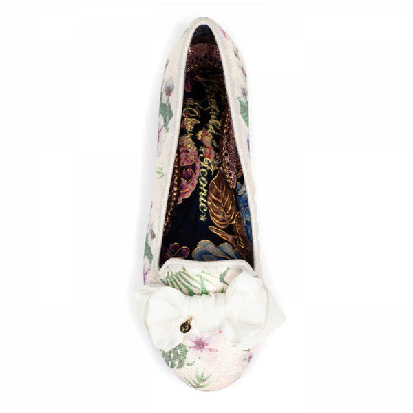 Sulu White Floral by Irregular Choice