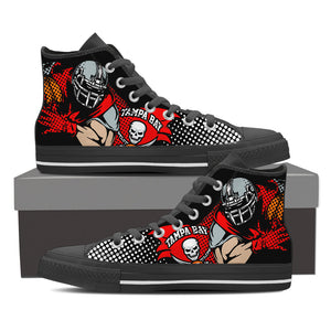Tampa Bay Bucs Men's High Top Shoes