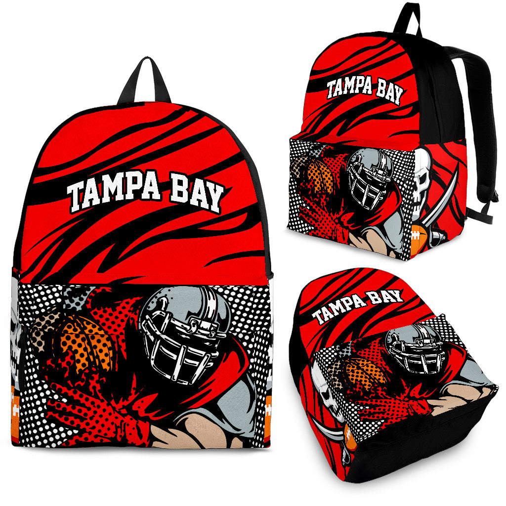 Tampa Bay Football Backpack