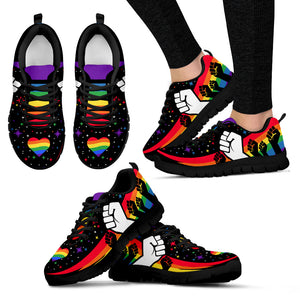 Pride Heart Women's Ssneakers