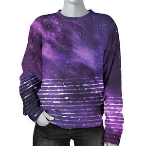 Galaxy Stripes Women's Sweater