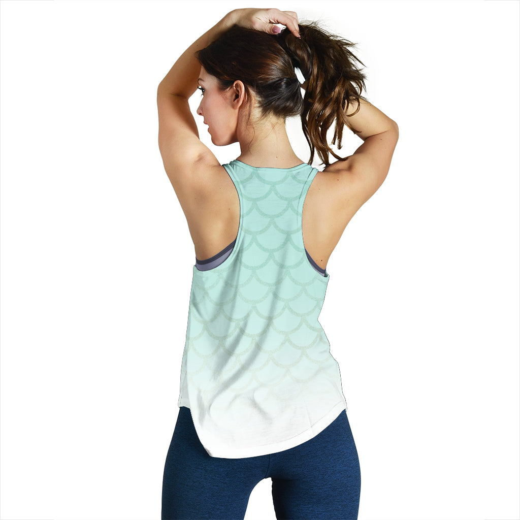 Mermaid Vibes Women's Racerback tank