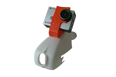 CLUB RACER FLEXIBLE GOPRO MOUNT (HERO 3 & 4)