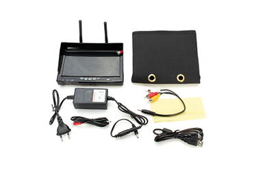 RC732-DVR 5.8GHZ DIVERSITY LCD Screen Receiver Monitor