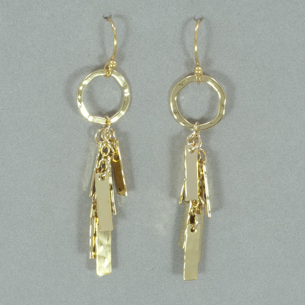 Holly Yashi Chelsea Earrings - Gold