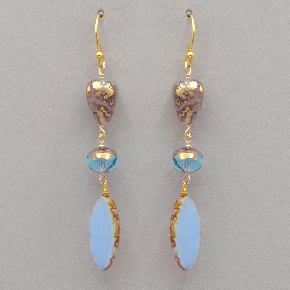 Holly Yashi Morning Glory Drop Earrings