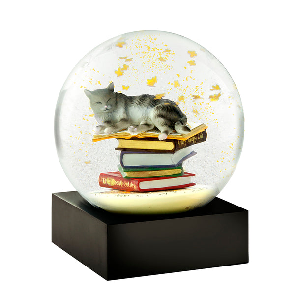 Snowglobes - Cat on Books