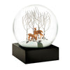 Snowglobe - Deer in Woods