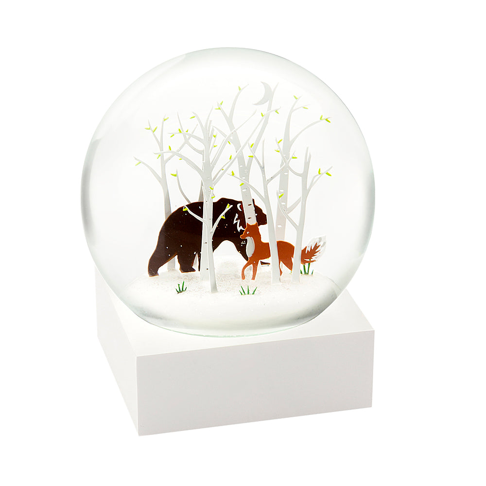 Snowglobe - Fox and Bear