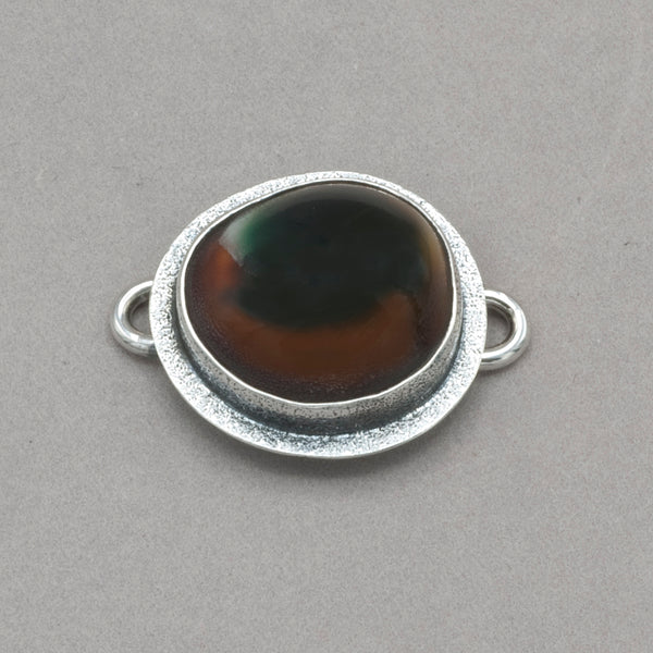 Tabra Cat's Eye Shell Charm