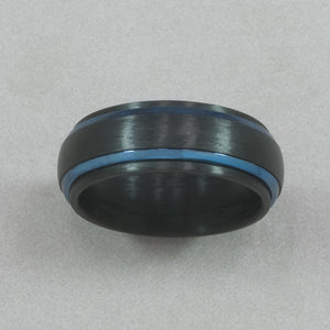 Italgem Carbon-Fiber with Blue IP Ring