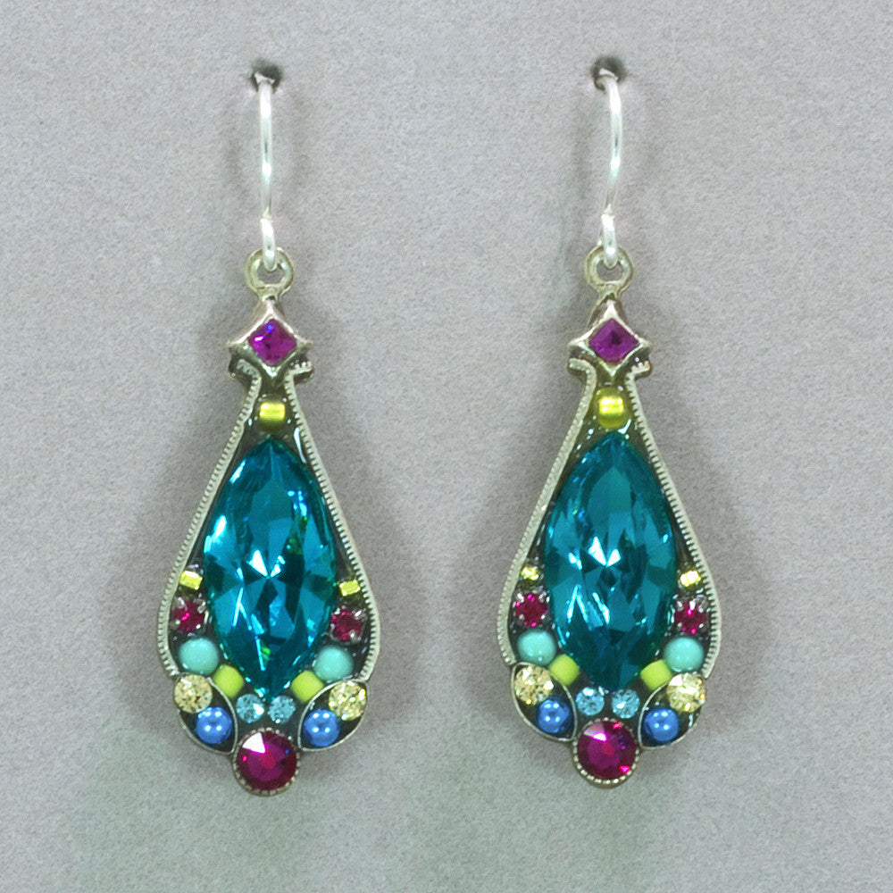 Firefly Large Crystal Earrings