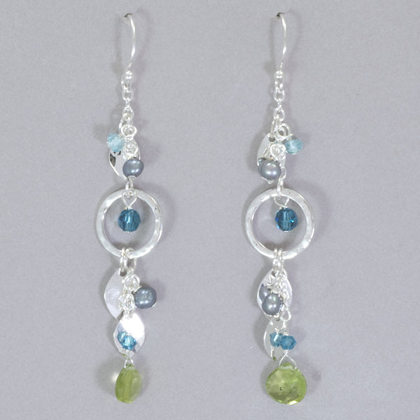 Holly Yashi Fairy Garden Drop Earrings