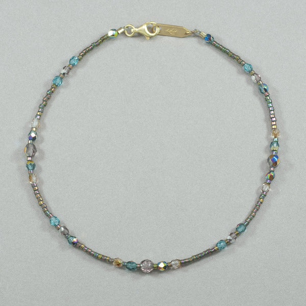 Holly Yashi Sonoma Glass Bead Anklet